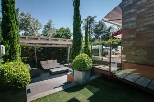 Un jardín en Madrid